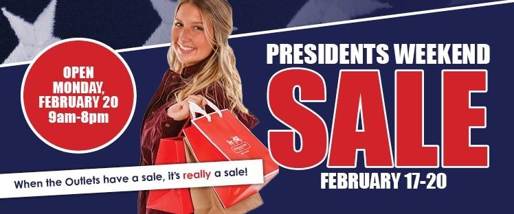 Presidents Sale Slider
